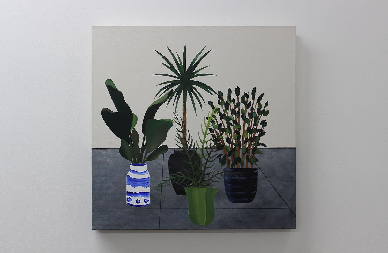 Jake Mullins - White and Blue Pot