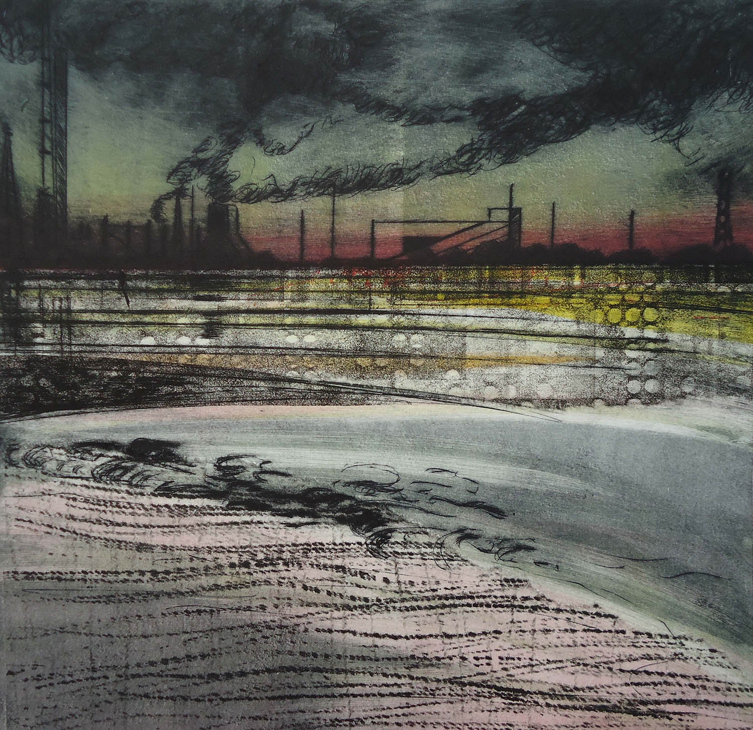 Cath Brooke artwork - redcar