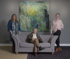 Michael Bilton, Sarah Collier and Heather Parry