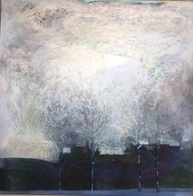 Michael bilton oil on canvas