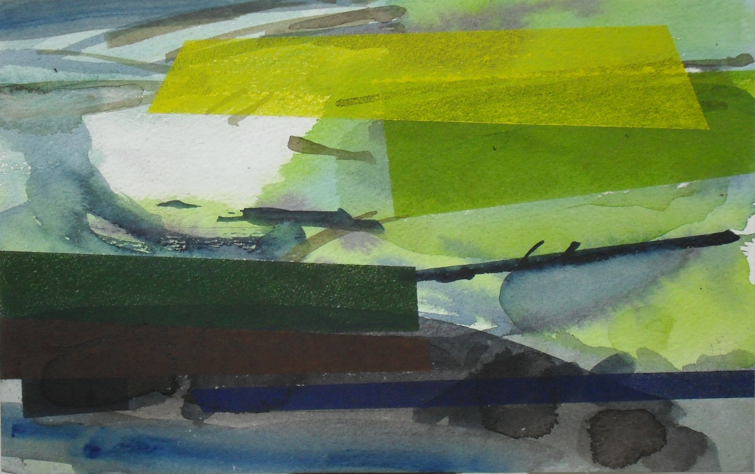 Martyn Lucas, the difficult of the landscape