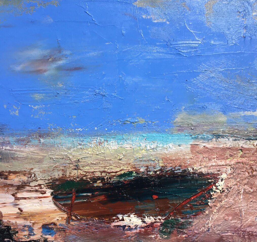 Harrogate Gallery, Lesley birch, The Ancient Shore