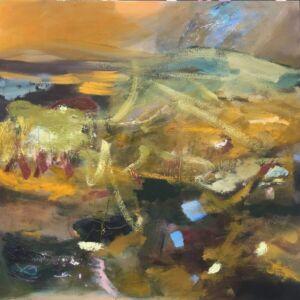 Harrogate Gallery, Lesley birch abstract