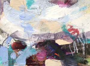 Lesley birch abstract landscape