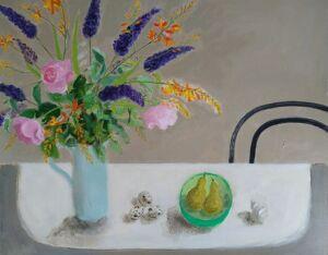 Gill Gathercole still life harrogate gallery