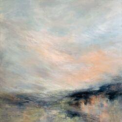 Emma whitelock abstract landscape
