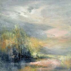 emma whitelock semi abstract landscape harrogate