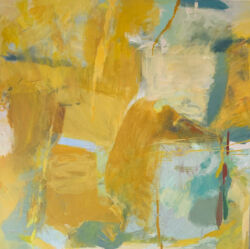 Jacquie denby abstract painting harrogate