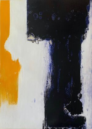 Paul Morrow abstract painting